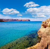 Javea Xabia and San Antonio Cape in Alicante Royalty Free Stock Photography