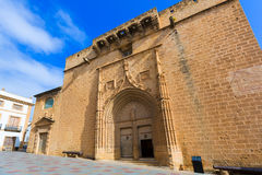 Javea Xabia Sant Bertomeu church Alicante Spain Stock Image