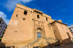 Javea Xabia Sant Bertomeu church Alicante Spain Stock Images