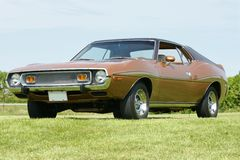 Javelin. Picture of the brown amc javelin Royalty Free Stock Photo