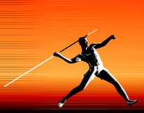 Javelin stock illustration