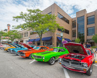 Javelin/AMX cars at the Woodward Dream Cruise Royalty Free Stock Images