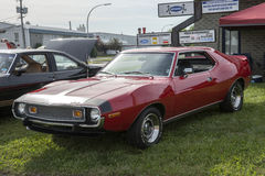 Javelin amx. Picture of amc javelin amx in display during pique-niqueen voiture pour l'espoir 2016 Royalty Free Stock Photo