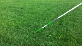 Javelin. Athletics, Throw, Grass, Green, Sport, Exercise, Long, Spear Royalty Free Stock Photo