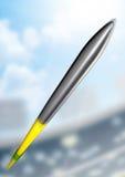 Javelin In Day Stadium Stock Images