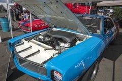 Javelin race car engine bay Royalty Free Stock Photo