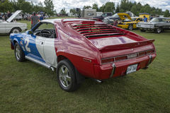 Javelin. Rear side view of javelin race car in display during the granby international 28-30 july 2017 Stock Image