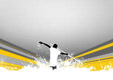 Javelin throw Royalty Free Stock Images