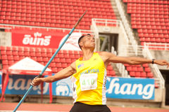 Javelin Throw . Stock Images
