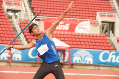 Javelin Throw . Royalty Free Stock Images