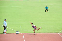 Javelin Throw. Royalty Free Stock Photos