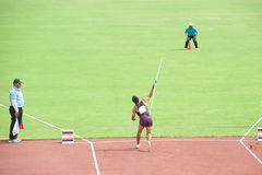 Javelin Throw. Royalty Free Stock Photo