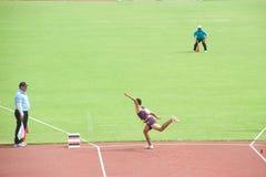 Javelin Throw. Royalty Free Stock Photos