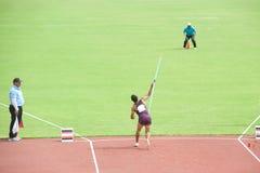 Javelin Throw. Royalty Free Stock Photo
