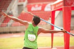 Javelin Throw . Royalty Free Stock Image