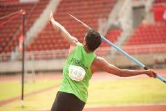 Javelin Throw . Stock Image