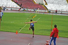 Javelin throw Royalty Free Stock Image