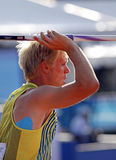 Javelin throw sweden nilsson Stock Photos