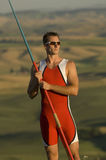 Javelin Thrower Royalty Free Stock Photos