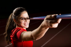 Javelin Thrower Royalty Free Stock Photography