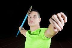 Javelin Thrower Stock Image