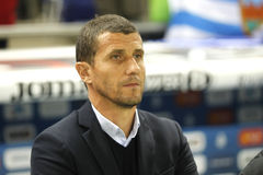 Javi Gracia manager of Malaga CF Royalty Free Stock Image