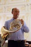Javier Bonet in St. Petersburg, Russia Royalty Free Stock Image