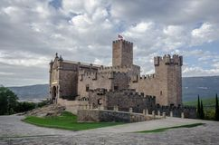 Javier Castle in Navarra Royalty Free Stock Image