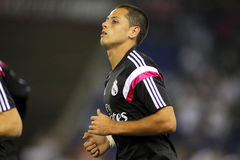 Javier Chicharito Hernandez of Real Madrid Stock Image