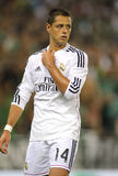 Javier Chicharito Hernandez of Real Madrid Royalty Free Stock Image