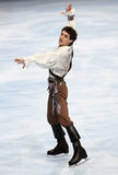 Javier FERNANDEZ (ESP) free skating Stock Photos