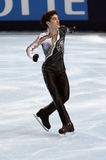 Javier FERNANDEZ (ESP) short program Stock Photos