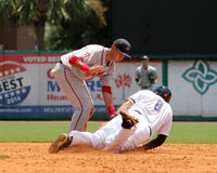 Javier Guerra, Greenville Drive Royalty Free Stock Photography