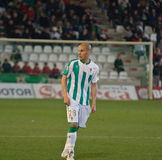 Javier Hervas from match league Cordoba vs Girona Stock Photography