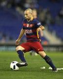 Javier Maschenaro of FC Barcelona Stock Images