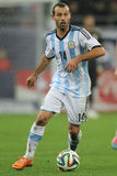 Javier Mascherano Royalty Free Stock Photography