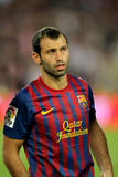 Javier Mascherano of FC Barcelona Stock Photo