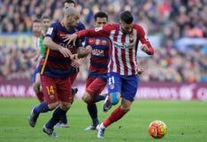 Javier Mascherano of FC Barcelona Stock Photos