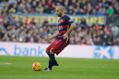 Javier Mascherano of FC Barcelona Royalty Free Stock Photography
