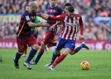 Javier Mascherano of FC Barcelona Stock Photography