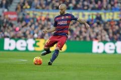 Javier Mascherano of FC Barcelona Royalty Free Stock Images