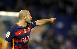 Javier Mascherano of FC Barcelona Royalty Free Stock Image