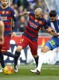 Javier Mascherano of FC Barcelona Stock Images
