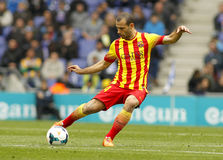 Javier Mascherano of FC Barcelona Royalty Free Stock Images