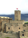 Javier middleage castle in Navarre Royalty Free Stock Image