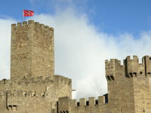 Javier middleage castle in Navarre Stock Photo
