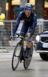 Javier Moreno Team Movistar Royalty Free Stock Image