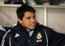 Javier Saviola of Real Madrid Royalty Free Stock Image