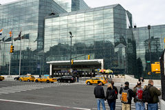 Javits Center New York. Stock Photo
