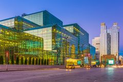 Javits Convention Center stock foto